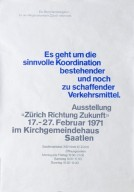 Zürich Richtung Zukunft