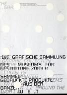 Die Grafische Sammlung des Museums für Gestaltung Zürich Sammelt Gedruckte Produkte aus der Ganzen Welt