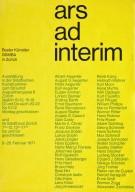 Ars ad interim Basler Künstler in Zürich