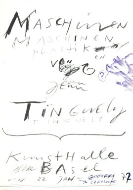 Ausstellung: Jean Tinguely