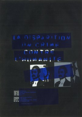 La Disparition un Crime
