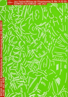 Jazz Festival Willisau '86 Schwizer Volksmusig ond Jazz