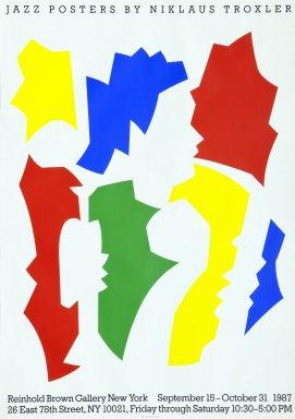 Jazz Posters by Niklaus Troxler