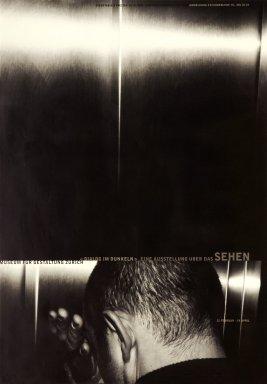 Dialog im dunklen: eine Ausstellung über das Sehen
