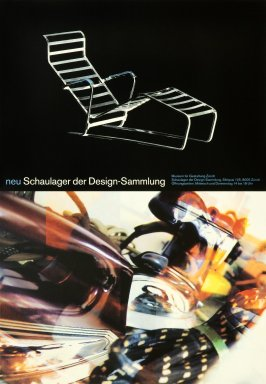Neu Schaulager der Design-Sammlung