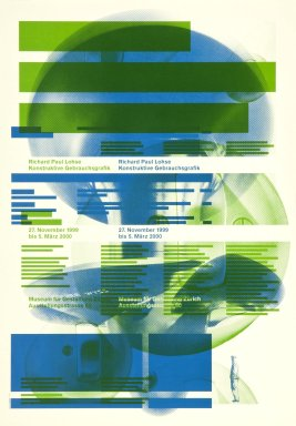 Richard Paul Lohse, Konstruktive Gebrauchsgrafik
