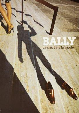 """Bally """"Der Schritt zur mode"""""""