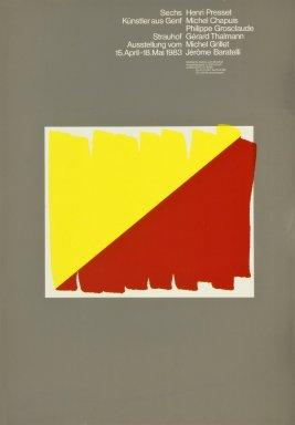 Galerie zum Strauhof: Sechs Kunstler aus Genf