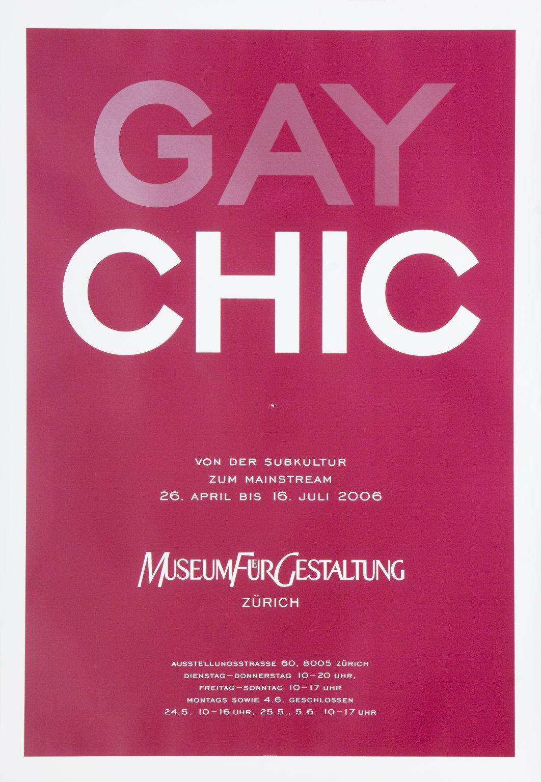 Gay Chic