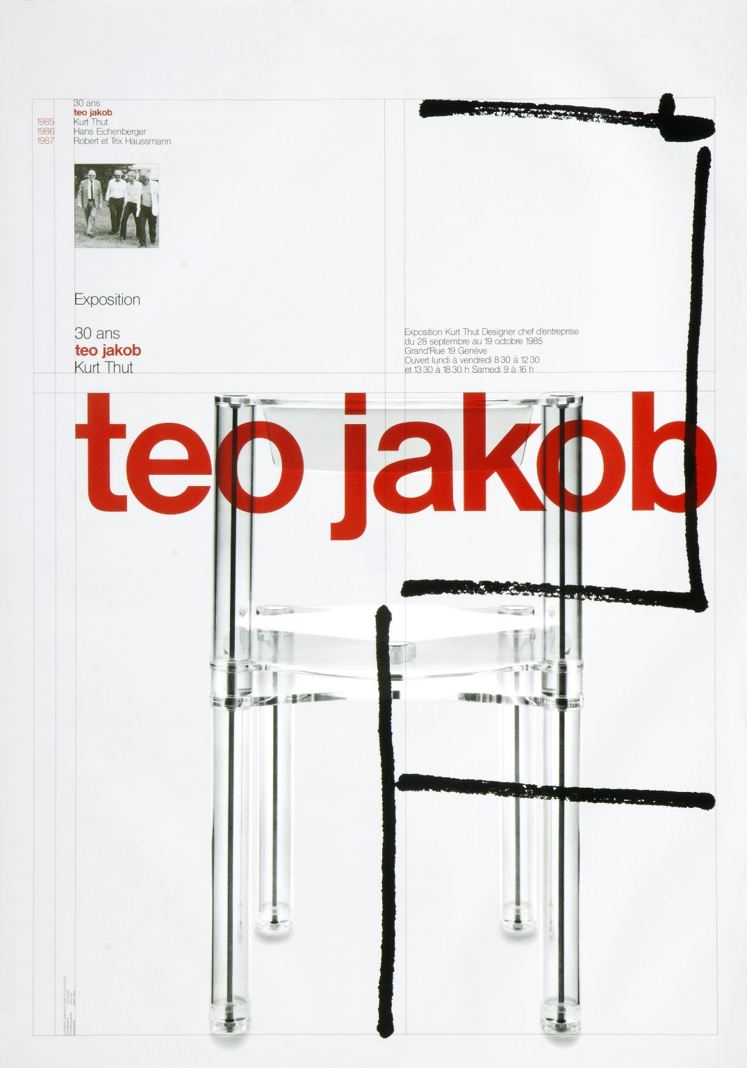 30 ans Teo Jakob: Kurt Thut