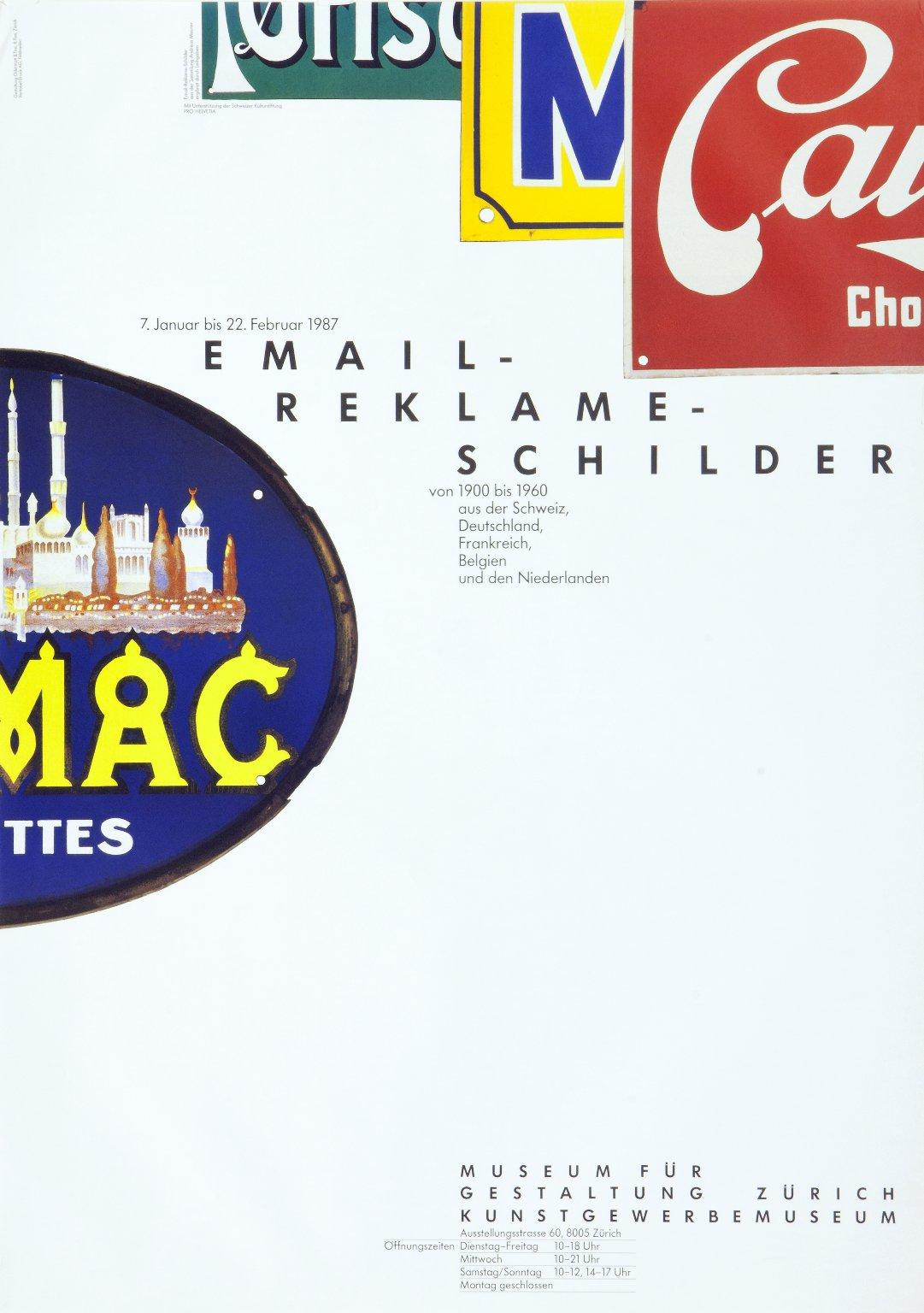 Email-Reklame-Schilder