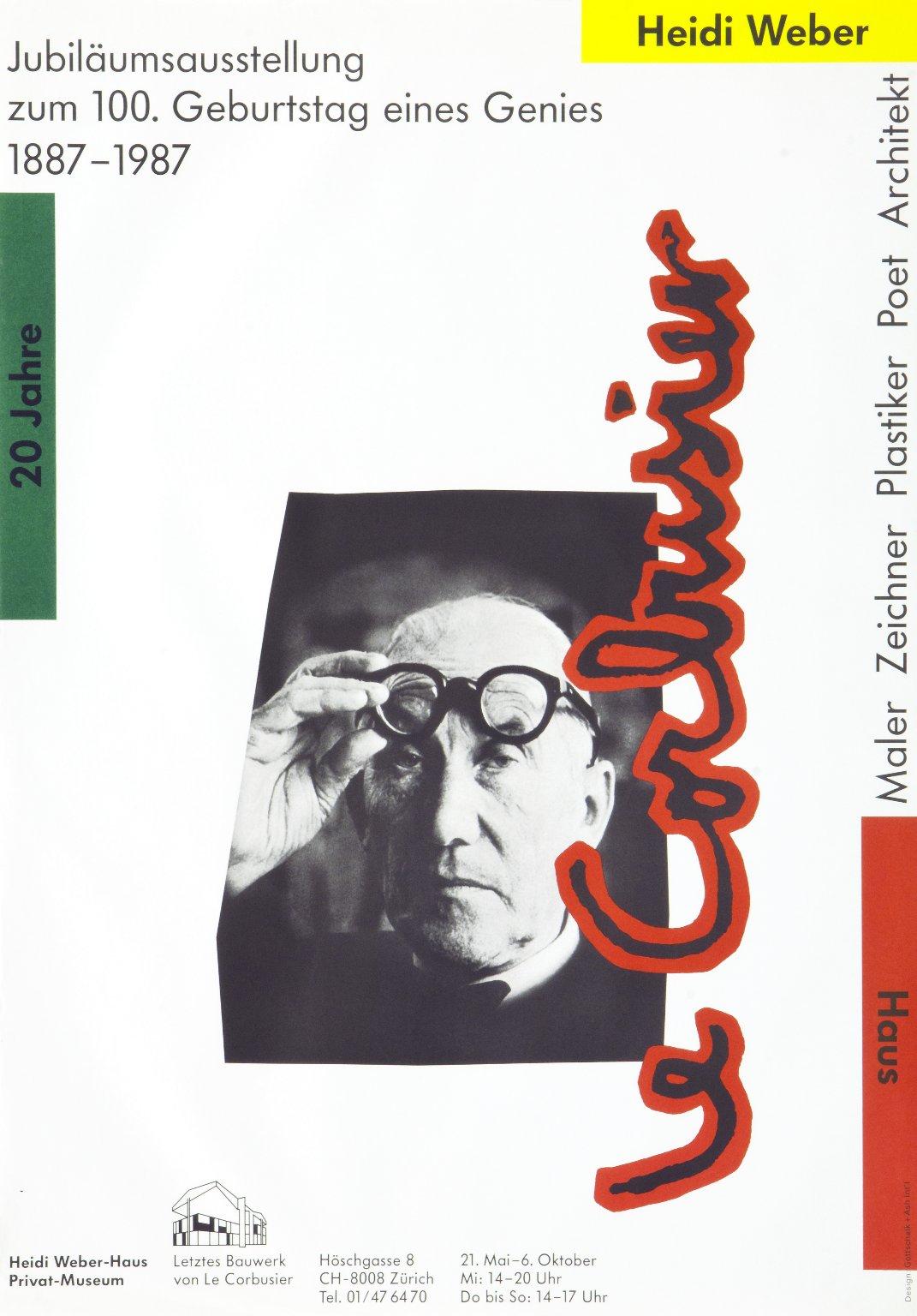 Jubiläumsausstellung zum 100. Geburtstag eines Genies Le Corbusier