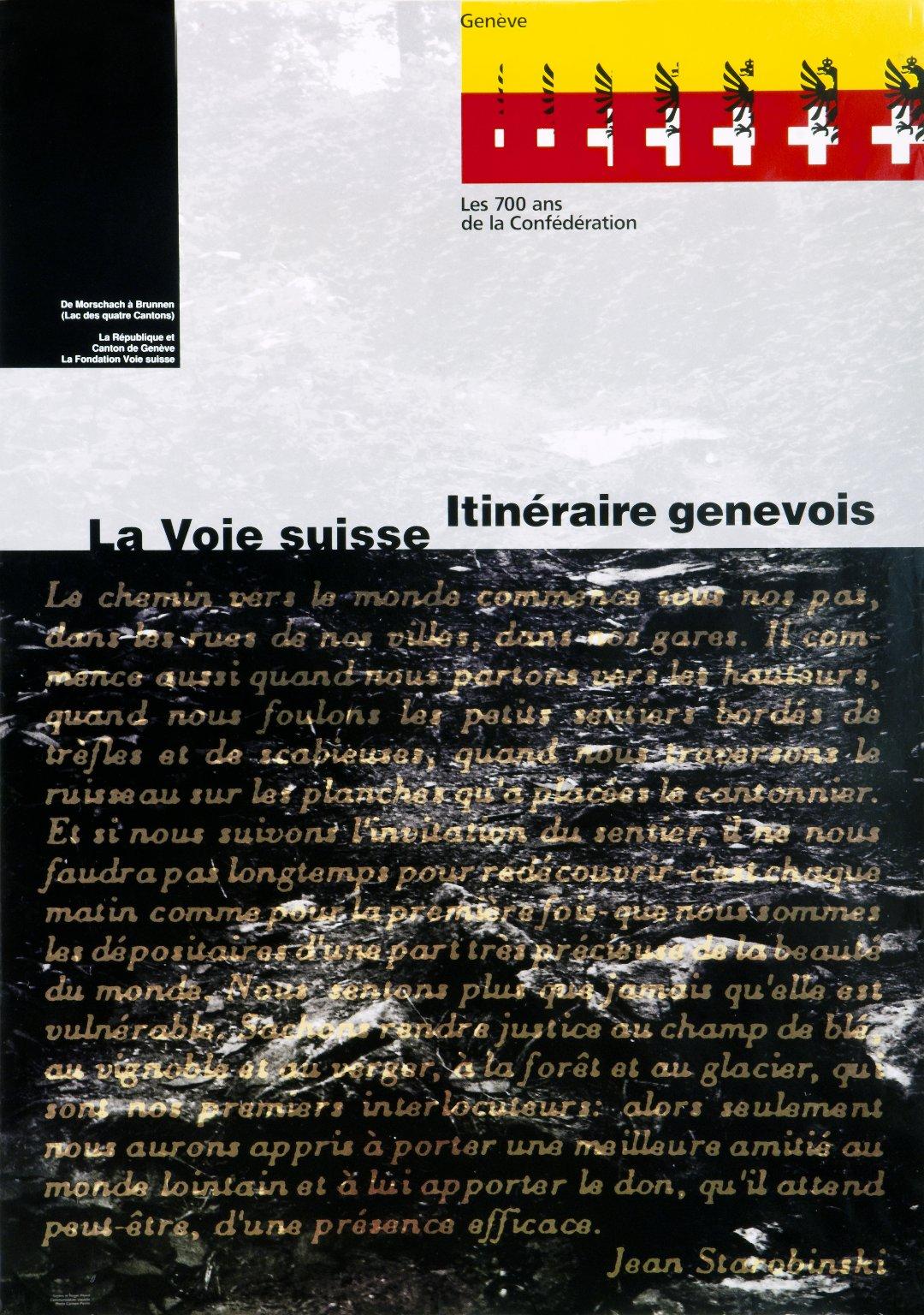 La Voie suisse: Itinéraire genevois
