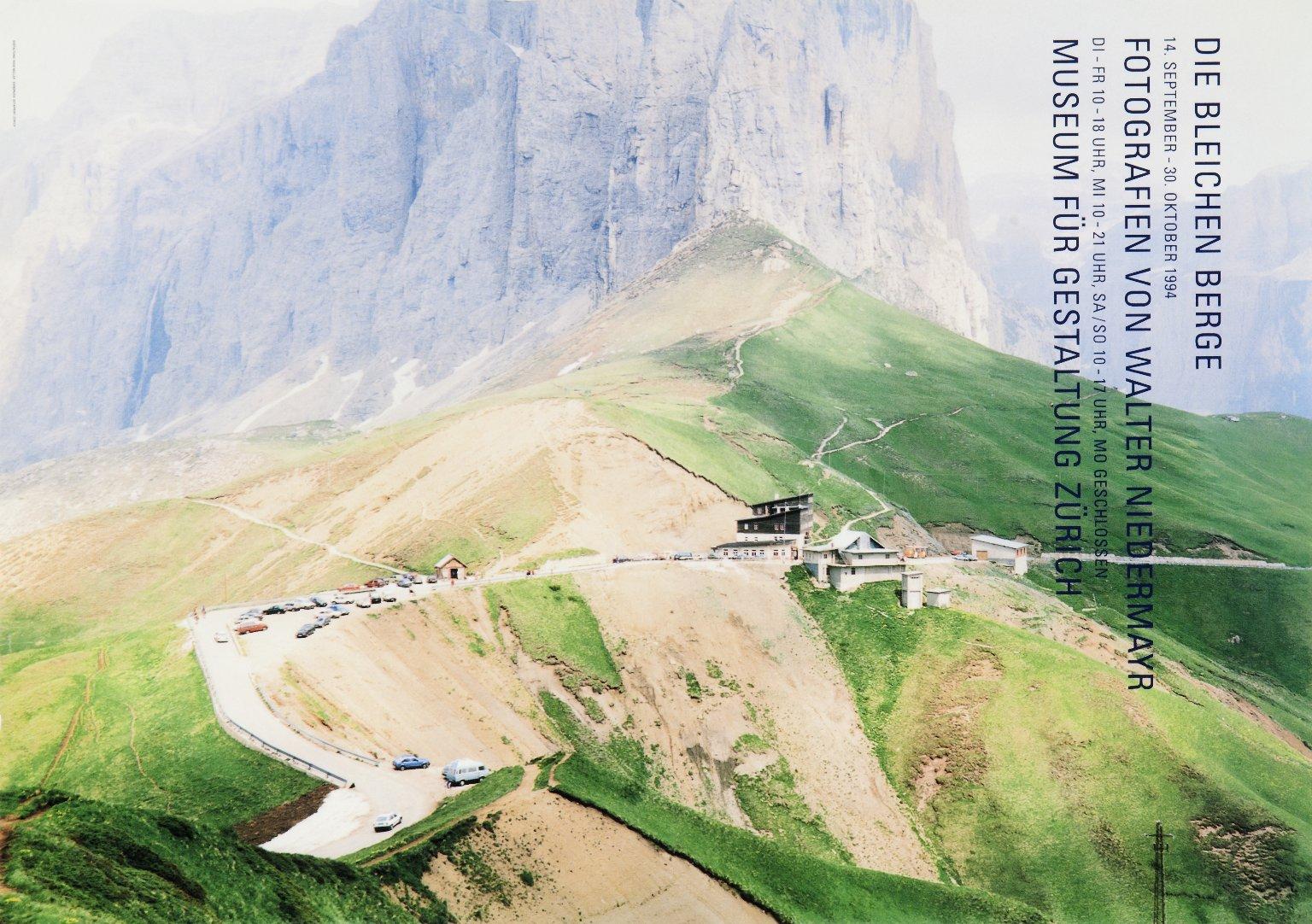 Die Bleichen Berge: Fotografien von Walter Niedermayr