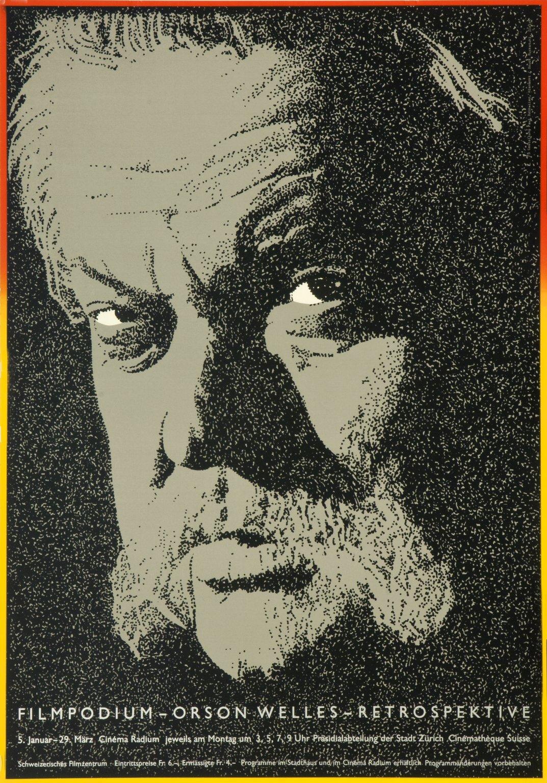 Filmpodium: Orson Welles
