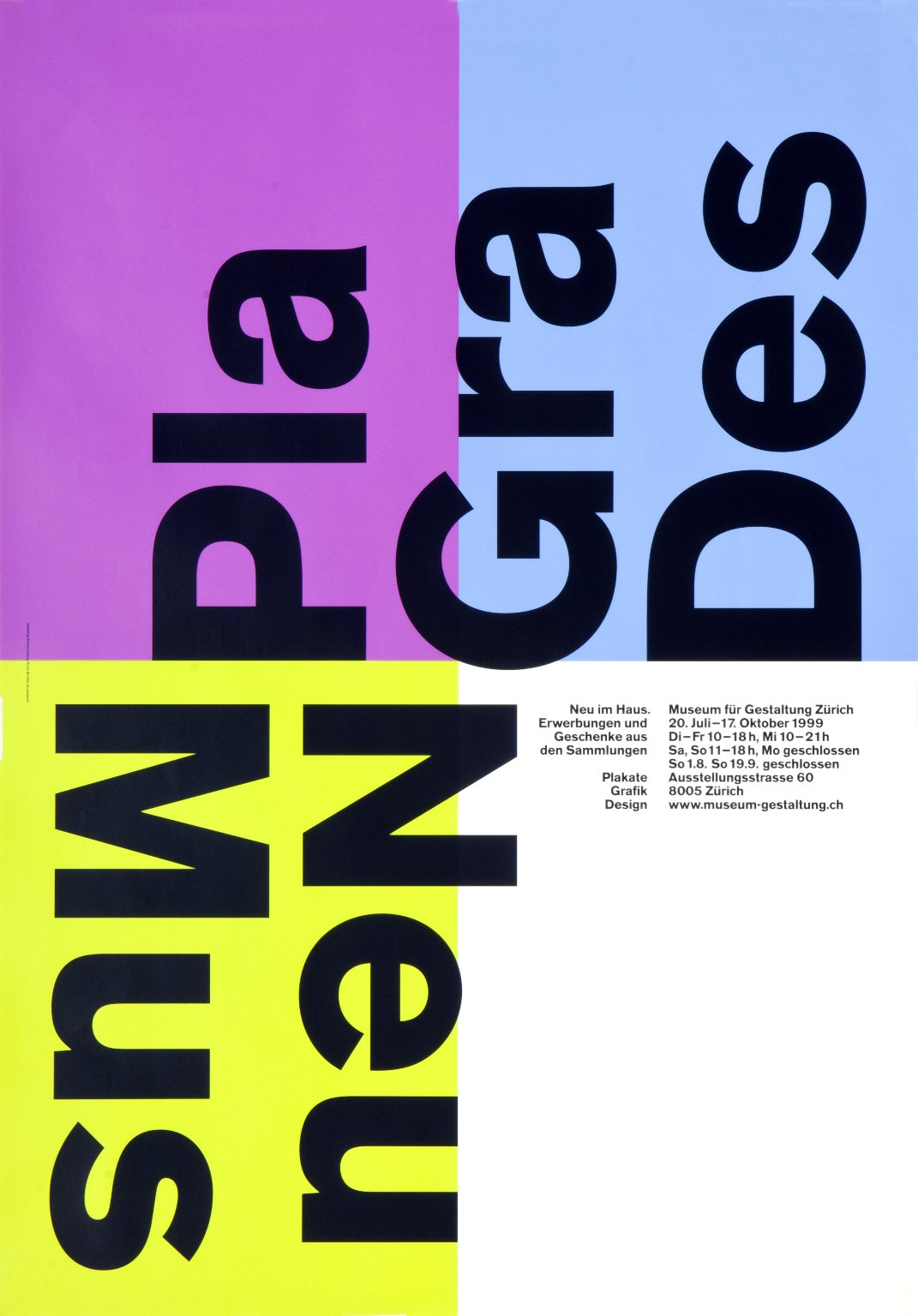 Pla Gra Des (Plakate Grafik Design)