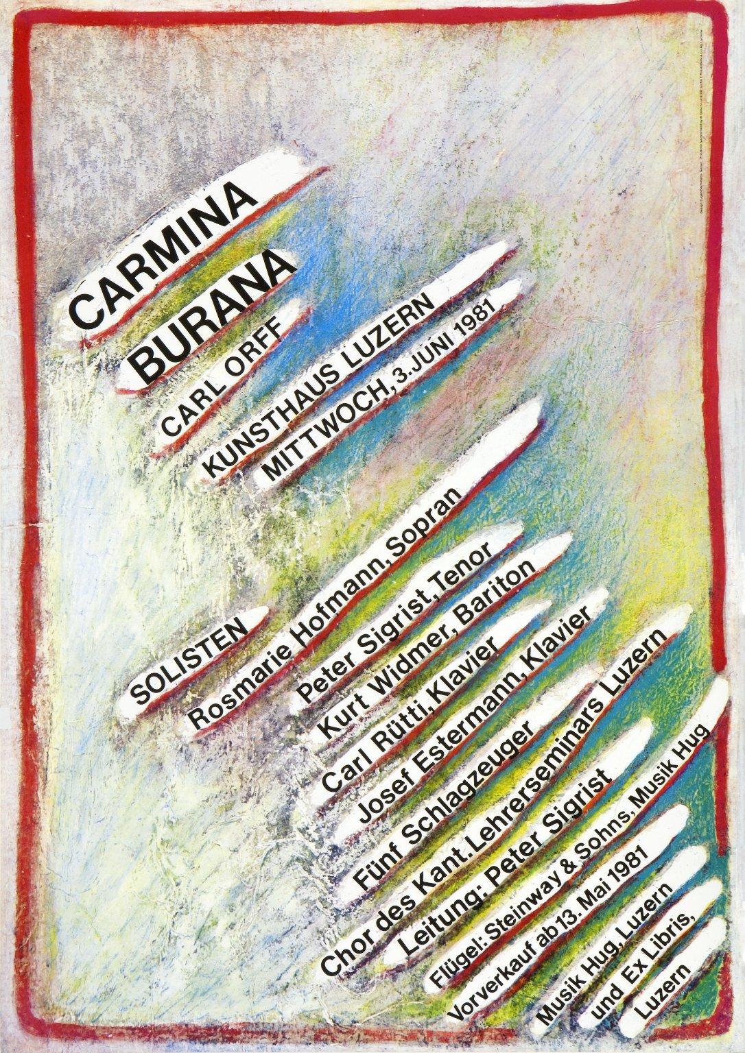 Konzert: Carmina Burana