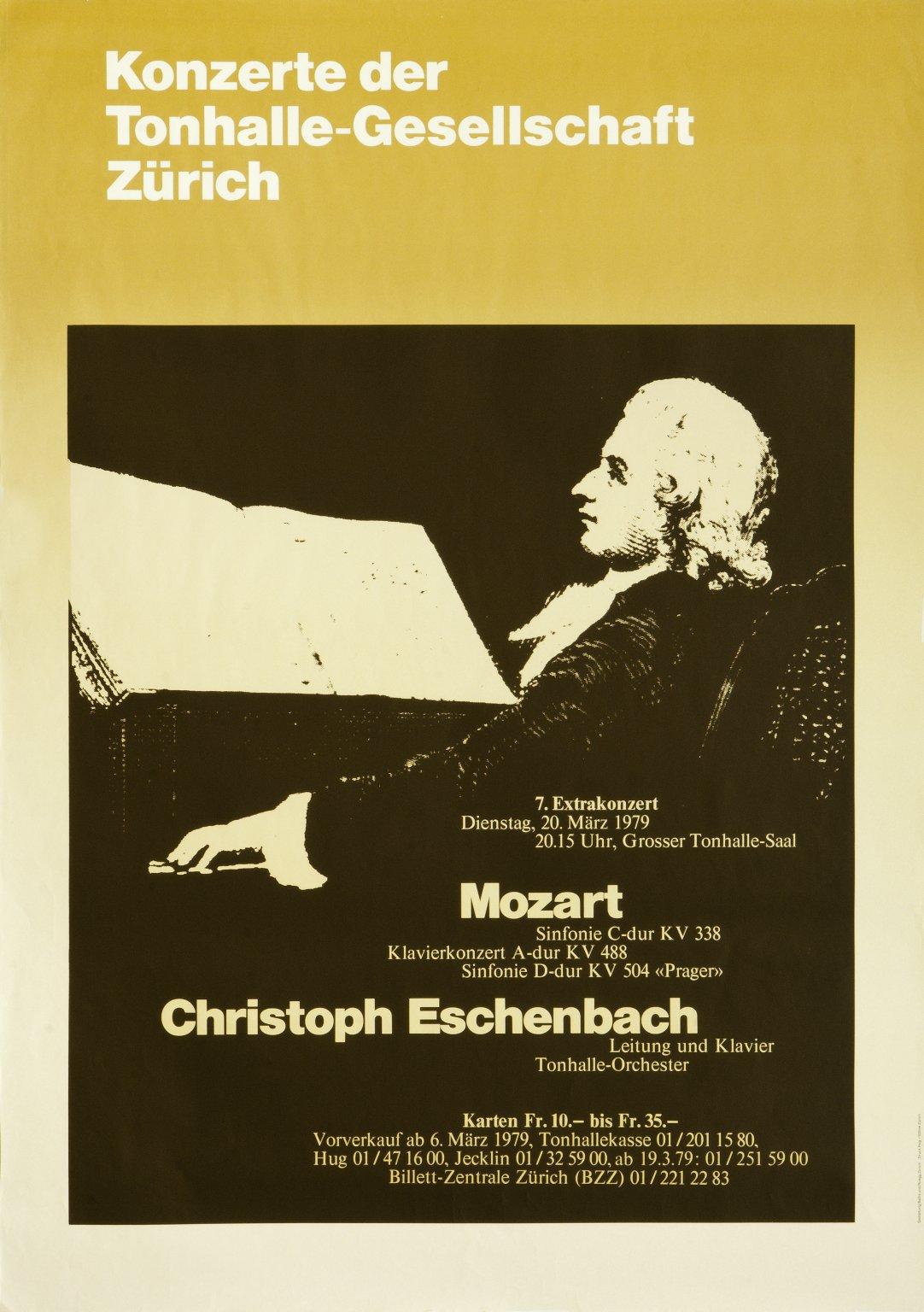 Mozart Christoph Eschenbach