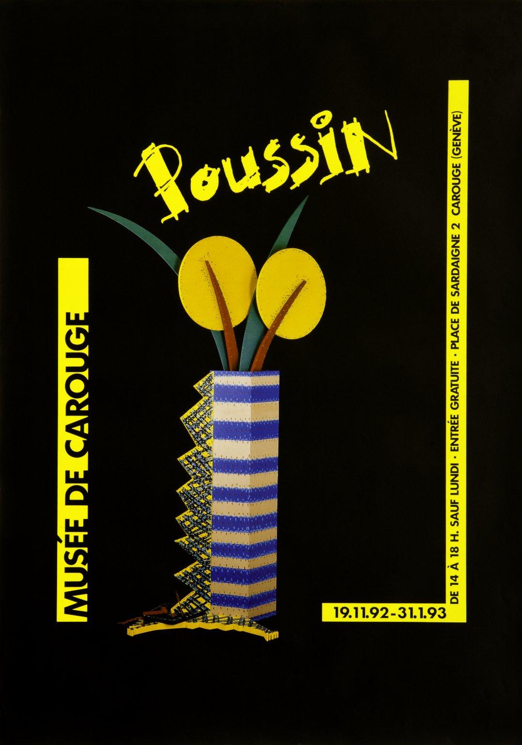 Poussin expo rétrospective Musée de Carouge