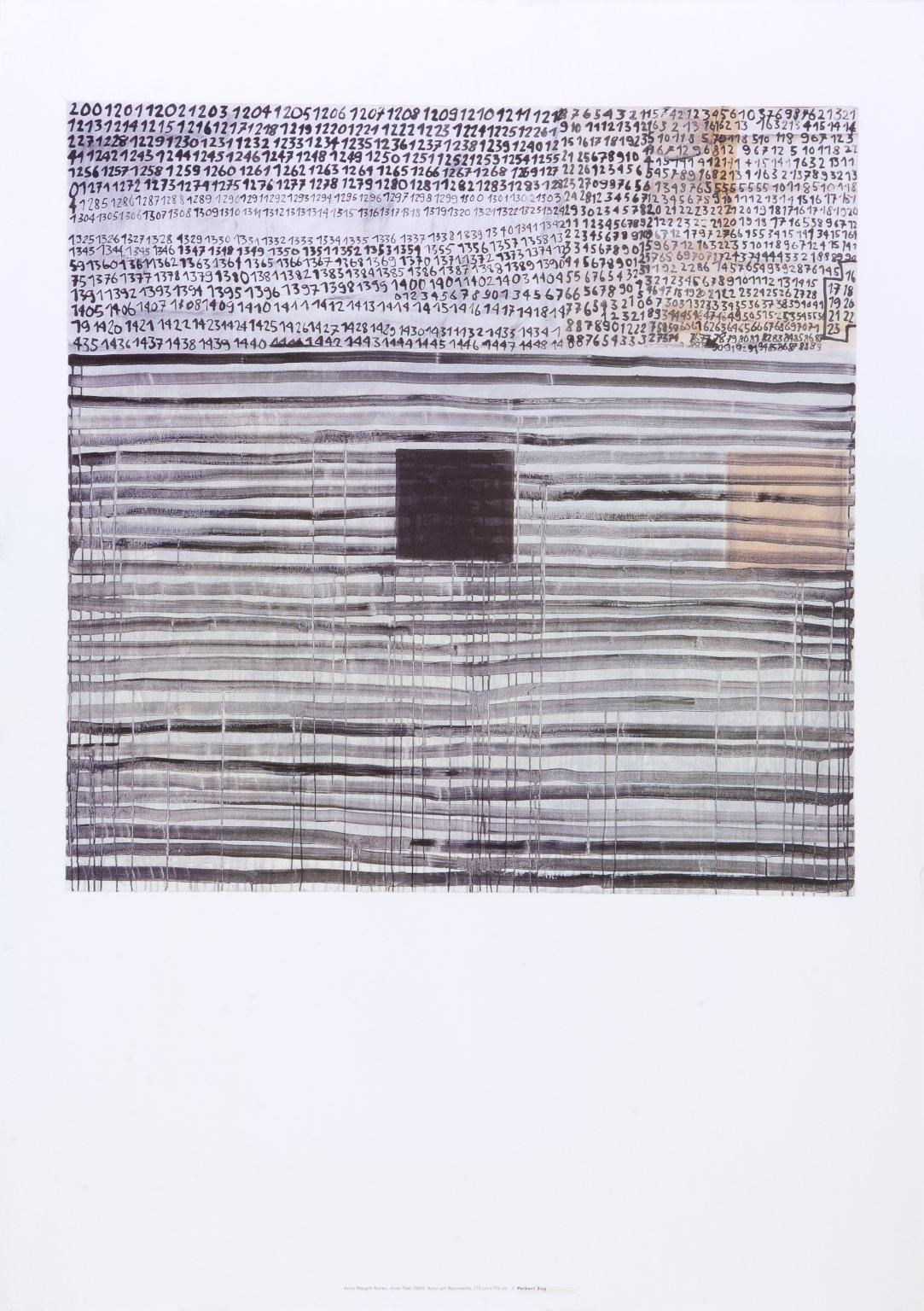 Anna Margrit Annen, ohne Title, 1993
